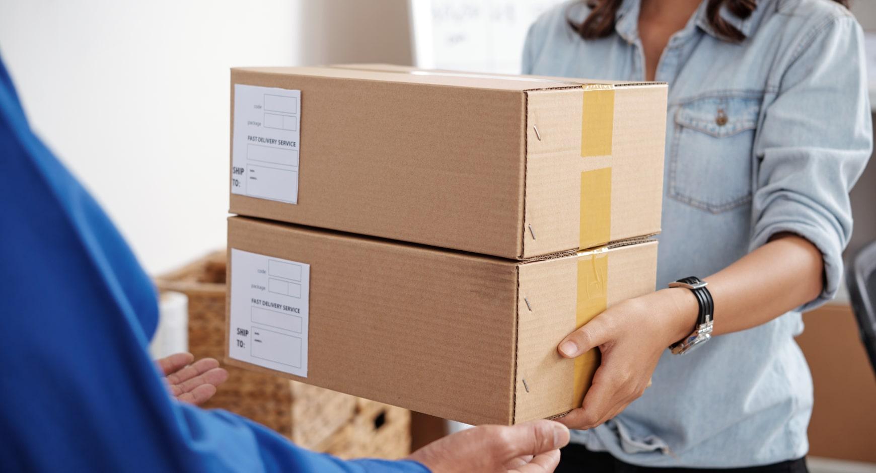 internationaal pakket (retour) sturen