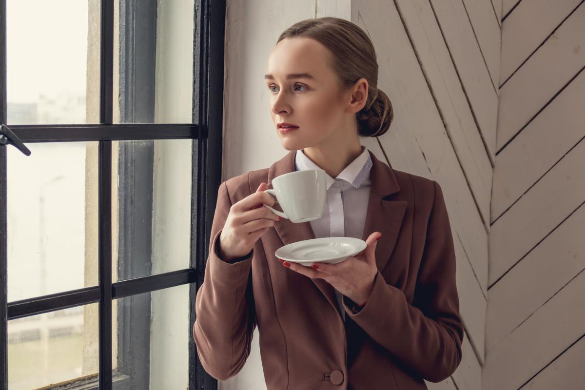 Chocoladebruine winterjassen voor vrouwen
